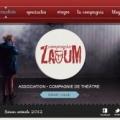 Proposition maquette Site Web pour une compagnie de Théâtre #2