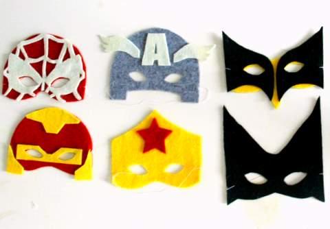 Häufig Des masques de Super Héros ! – le blog à Myzotte WW04