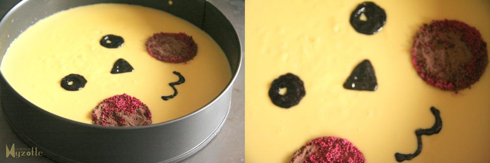 la gâteau truffon chocolat blanc pikachu par myzotte