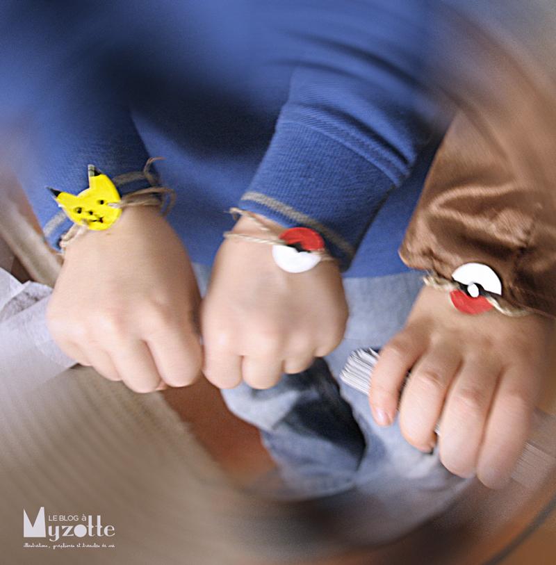 les bracelets en plastique dingue