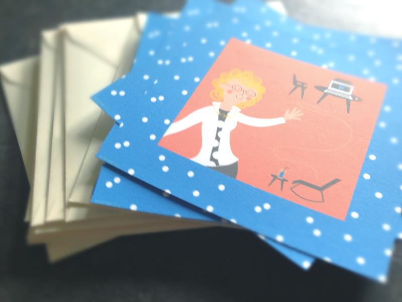 retraite - cartes et enveloppes