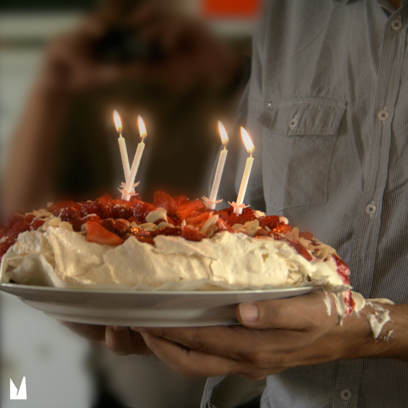 un gâteau quelque peu…renversant