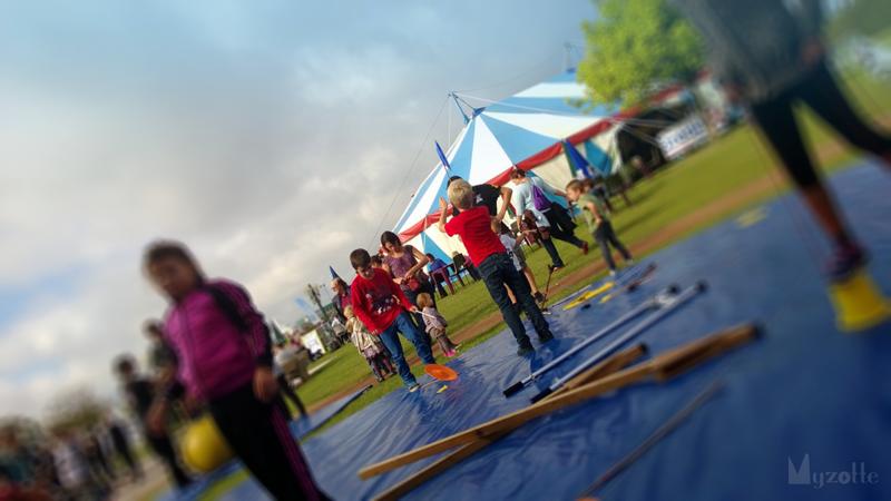 une activité qui a du succès proposée par l'école : le cirque